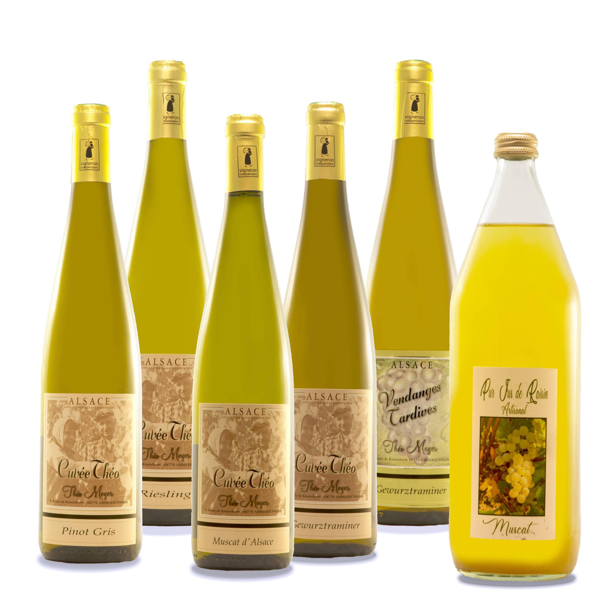 Coffret découverte Vins d'Alsace
