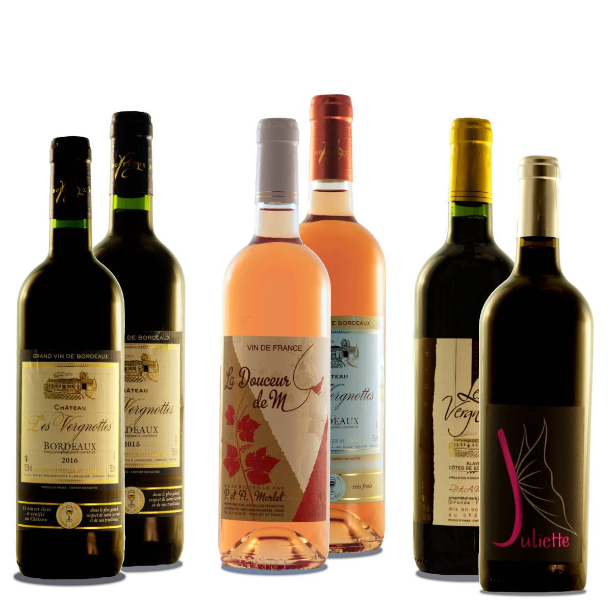 Coffret Découverte Vins de Bordeaux