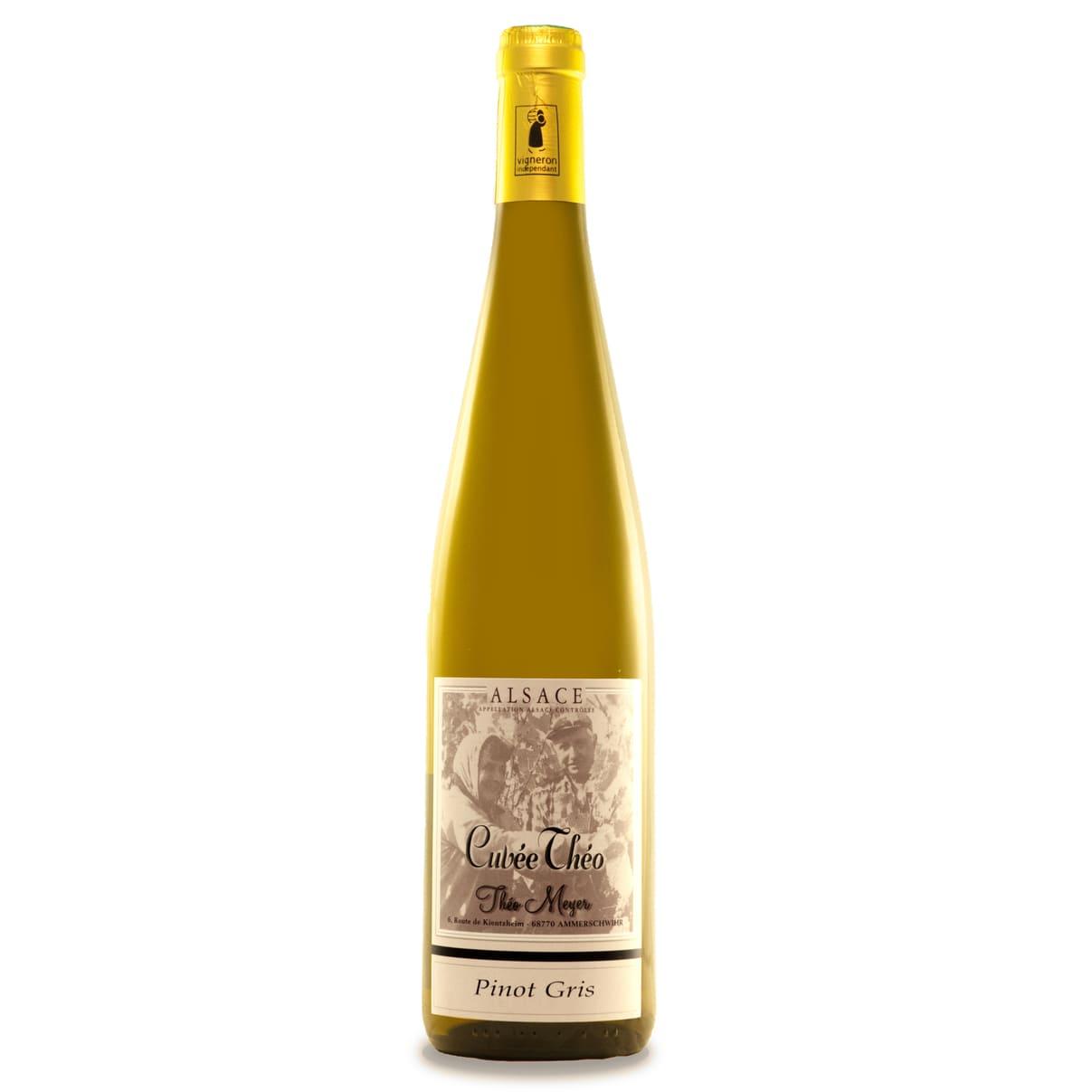 Pinot gris Cuvée Théo 2018